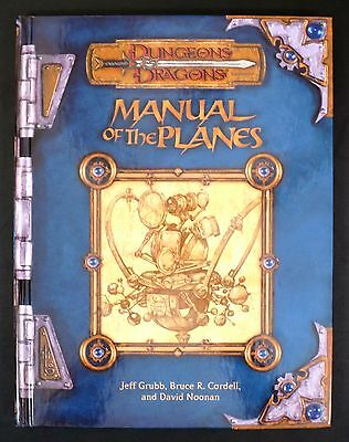 Manual of the Planes - Dungeons & Dragons - Near Mint