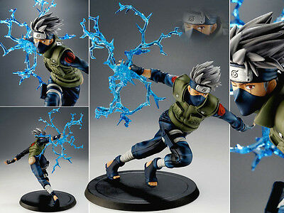 Collections Anime Figure Toy Naruto Hatake Kakashi Figurine Statues 22cm