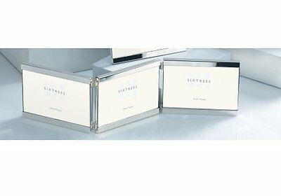Sixtrees 2-697-46ht 6 x 43-inch Vienna Silver Plated Top and Bottom Hinged Photo