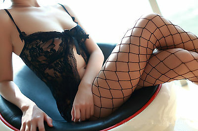Sexy Fishnet Body Stockings Underwear Crotchless Bodysuits Erotic Lingerie CUG