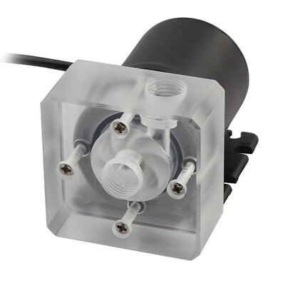 DC 12V 9W G1/4 Low Noise CPU Cooling Water Pump for Desktop CPU Cooling System