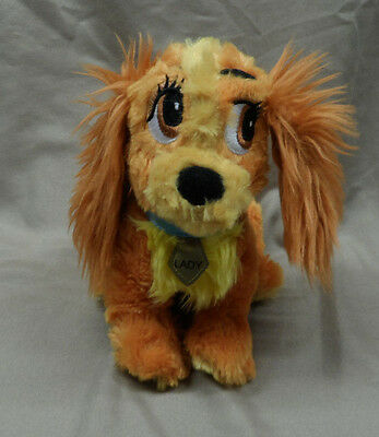 """Authentic Disney Parks Lady & The Tramp 8"""" Lady Dog Stuffed Plush Toy - Preowned"""