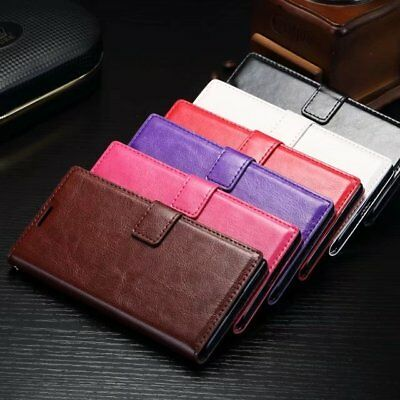 For Sony Xperia Z5 Compact, E5823 E5803 Card Slot Flip Leather Wallet Case Cover