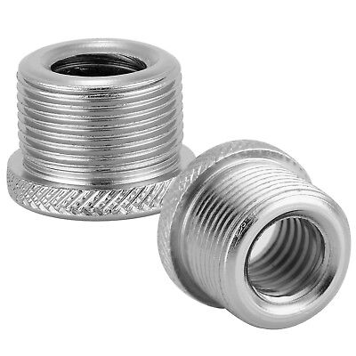 """Neewer 2 PCS Screw Thread Adapter 5/8"""" Female to 3/8"""" Male for Microphone Stand"""
