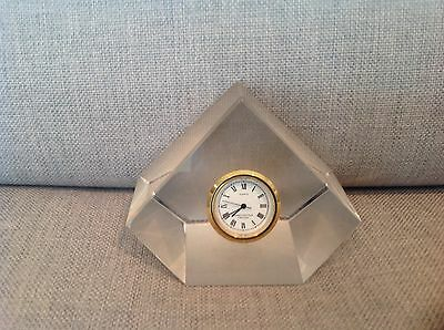 Darlington 24% Lead Crystal Clock
