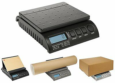 Postship Multi Purpose Scale 5g or 10g Increments Capacity 34kg Black Ref PS3400