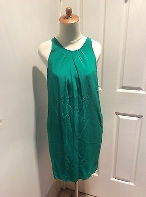 Country Road green silk dress size 10