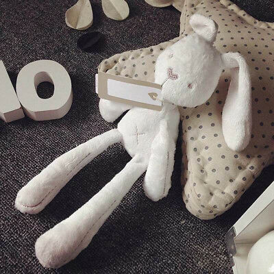 Baby Sleeping Rabbit Bunny Doll Soft Plush Stuff Toy Infant Kids Hug Pillow Gift