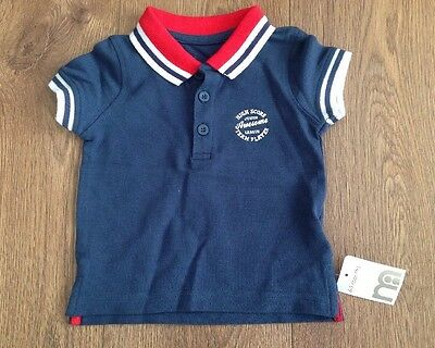 Baby Polo Shirt Age 6-9 Months