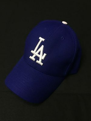 NWT MLB LA Dodgers Navy Cap by Twins baseball strapback snapback hat Size OS