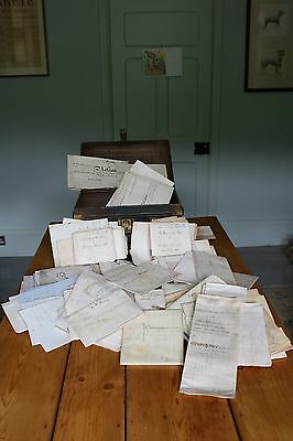 Over Two Hundred 17th, 18th and 19th Century Documents