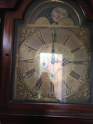 Grandfather Clock, Thomas Brown Chester member of the Goldsmith's Company, 1773