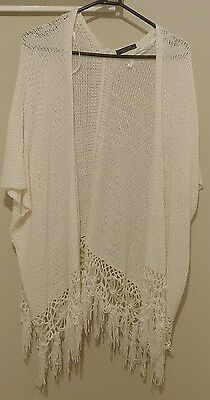 Crossroads 12/14 knitted vest worn once