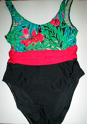 Vintage Ladies Undercover Ware Size 14 One Piece Swimmers Swim Wear Australian
