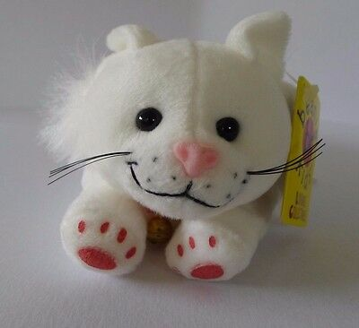 Skansen Beanie Kid Purr the Cat BK217 MWMT Retired