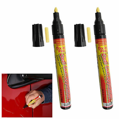 Fix It Pro Car Scratch Repair Remover Pen Simoniz Clear Coat App