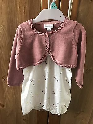 Vertbaudet Baby Girl Outfit 12m BNWOT