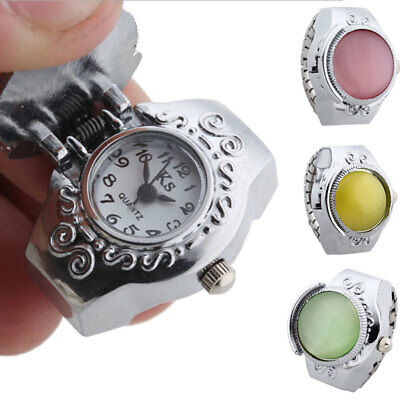 Ring-Watch Fashion Decoration Accessory Elastic-Belt Bettery-Operated Quartz
