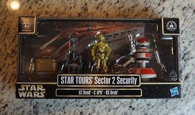 Sector 2 Security 2013 STAR WARS Star Tours DISNEY Parks Exclusive Pack Packs