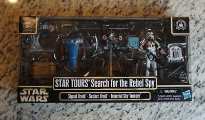 Search For the Rebel Spy STAR WARS Star Tours DISNEY Parks Exclusive Pack Packs