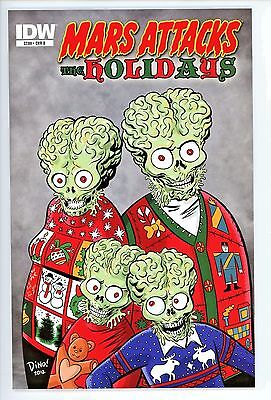 Mars Attacks  The Holidays  #1    * Variant *    Haspiel Cover  B   Nm