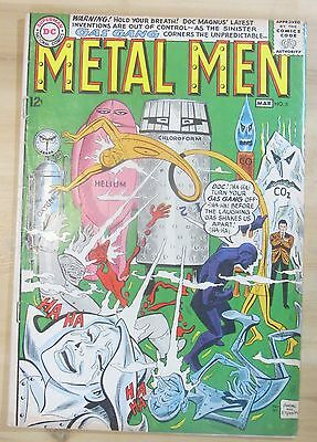 METAL MEN #6 1964 DC comic VG 4.0 condition...FREE SHIPPING!!!
