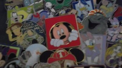 Misc. Mix Of Disney Trading Pins  50 Pin Lot  Free Shipping  No Doubles  2H