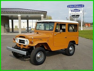 1973 Toyota Land Cruiser FJ40 1973 Toyota FJ40 Land Cruiser 4x4 3.9L 6cyl 40 Series 73