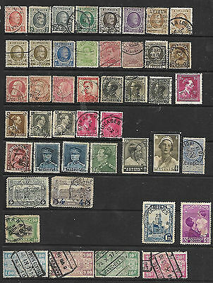 Collection Of Belgium Stamps
