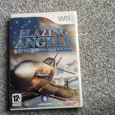 Nintendo Wii Game_Blazing Angels : Squadrons Of Ww11 + Manual