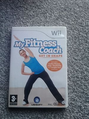 Nintendo Wii Game_My Fitness Coach : Get In Shape + Manual