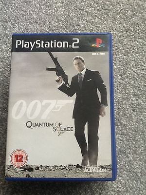Playstation 2 Game_007 : Quantum Of Solace..no Manual