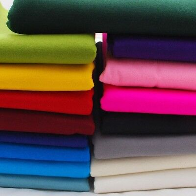 Soft 100% Polyester Craft Felt Sheets 150 cm wide Fabric Material per meter