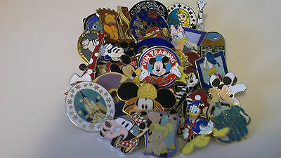 Disney Trading Pins_40 Pin Lot_No Doubles_Great Assort._Free Shipping_53G