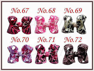 """50 BLESSING Good Girl 2.5 - 3.25"""" Boutique Hair Bows Clip 3 Styles 420 No."""