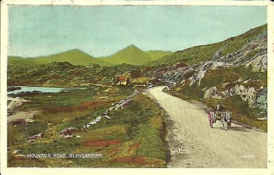 Mountain Road, Glengarriff, Co. Cork (Colour Printedpostcard) 1949