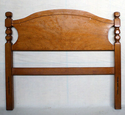 "41""x38"" Vintage Solid Wood Wooden Twin Size Bed Frame Head Board Headboard Panel"
