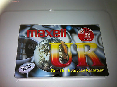 Blank Tape Casettes Maxell Ur 60 Mins New Sealed