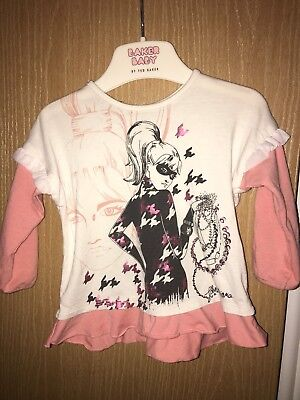Genuine Designer John Galliano Girls Top 6m