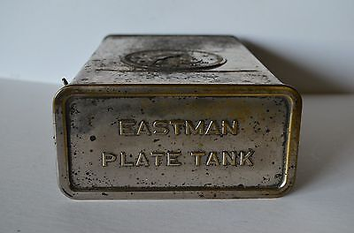 Antique Eastman Plate Tank for glass plates
