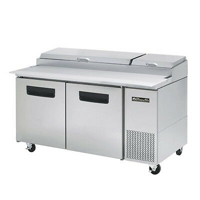 Blue Air BAPP67 Two Door Pizza Prep Table - 67 Inches Refrigerator Refrigeration