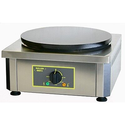"Equipex 350E 13.75"" Single Crepe Maker w/ Cast Iron Plate, 208v/1ph"