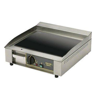"Equipex PVC-400 16"" Electric Griddle - Thermostatic, Steel Plate, 120v Sodir"