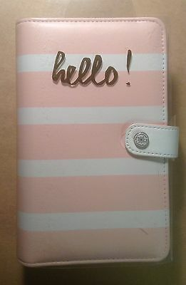 WEBSTER'S Pages PERSONAL Color Crush PLANNER KIT BLUSH STRIPE