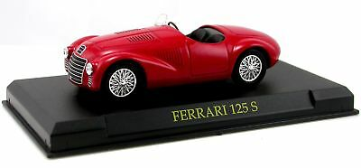 Ferrari FERRARI 125 S Scuderia rot 1:43 Offical Licensed Product Metall Chassis