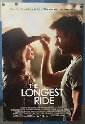 THE LONGEST RIDE, 1 Sheet 2 sided theater movie poster, SCOTT EASTWOOD