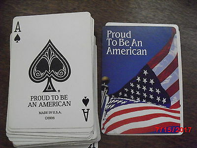 Proud to be American Playing Cards