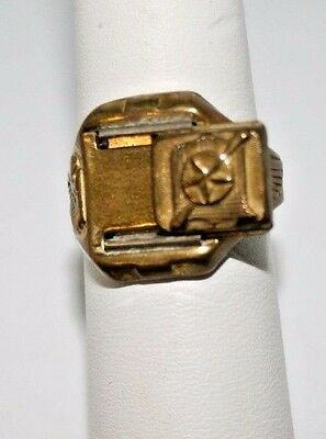 Captain Midnight Ring 1942 Secret Compartment Ring