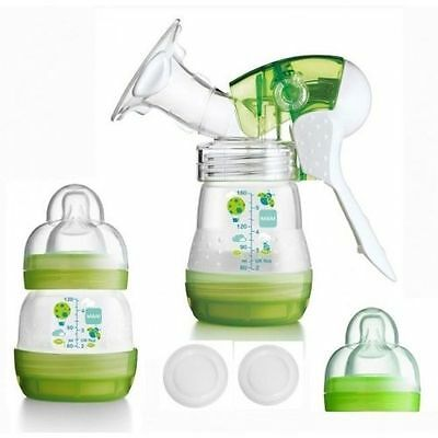 Mam Breast Pump Easy To Use With Suction Adjustment N Self Sterilising Bottle