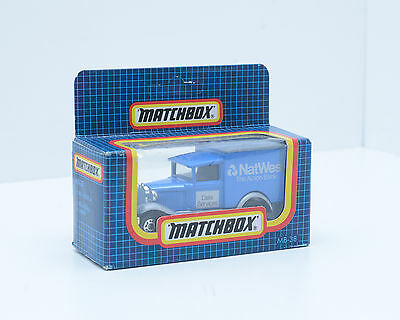 """Matchbox MB-38, Model A Ford, """"NatWest Bank"""" in Excellent Condition, 2208"""